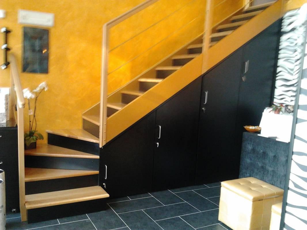 scale legno soppalco
