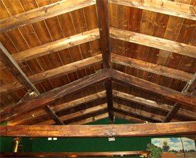 Soffitti in legno milano( garghet)