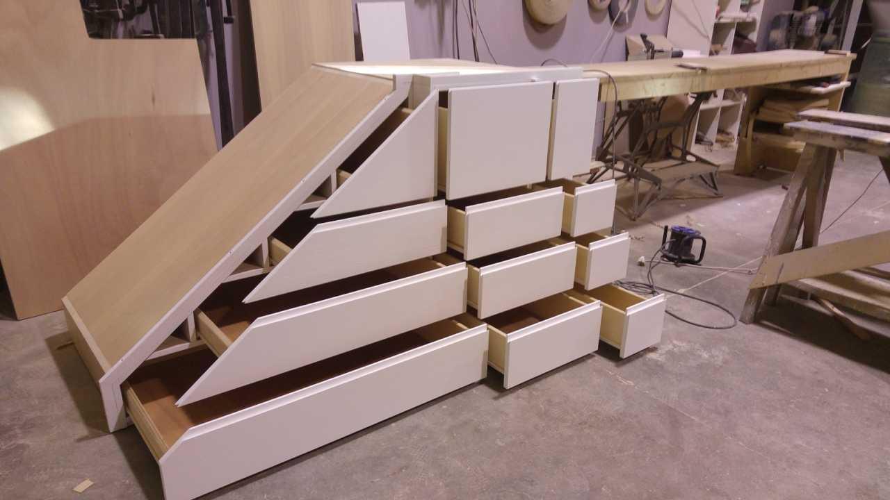 Mobile scal su misura creo casa milano cucine progetti - Progetti mobili in legno pdf ...