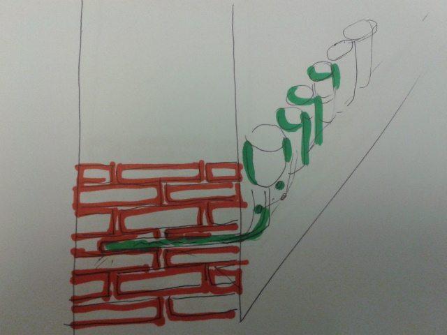 schizzo barriera chimica
