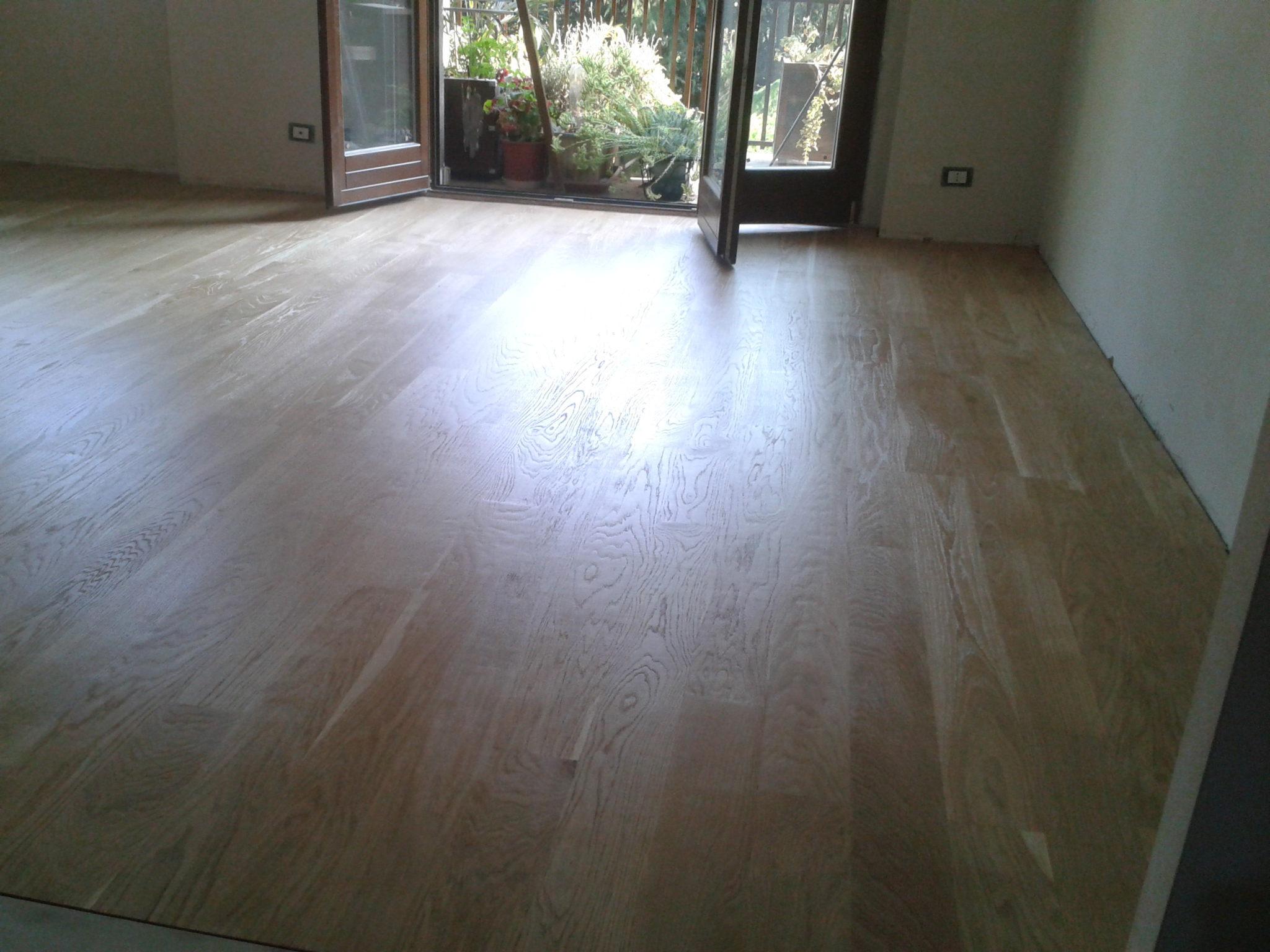 Come posare un pavimento in legno