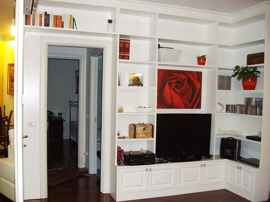 Prezzo Libreria Su Misura.Mobili Su Misura Milano Realizzazione E Progettazione Arredamenti