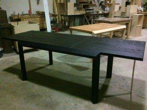 tavolo moderno rovere