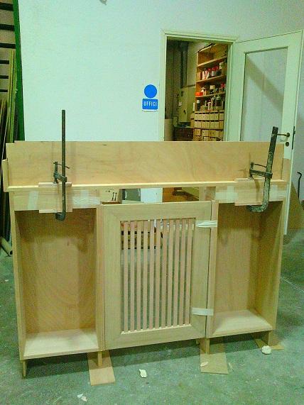 copri termo in legno