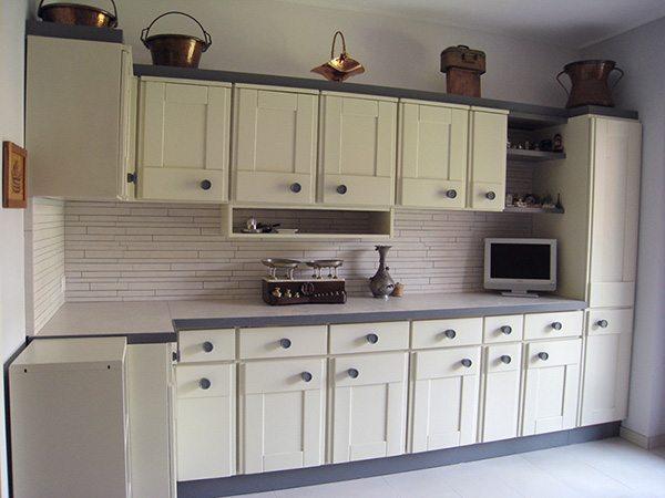 Cucina su misura varese creo casa milano cucine progetti arredamento - Verniciare ante cucina legno ...