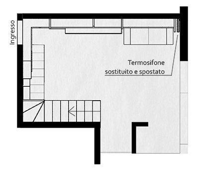 Progettazione arredamento su misura il soggiorno creo for Arredamento appartamento completo