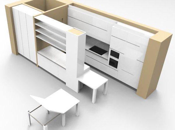 Misura profondità cucina elemento importante - Creo Casa Milano ...