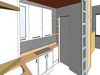 cucina profondita 45 cm