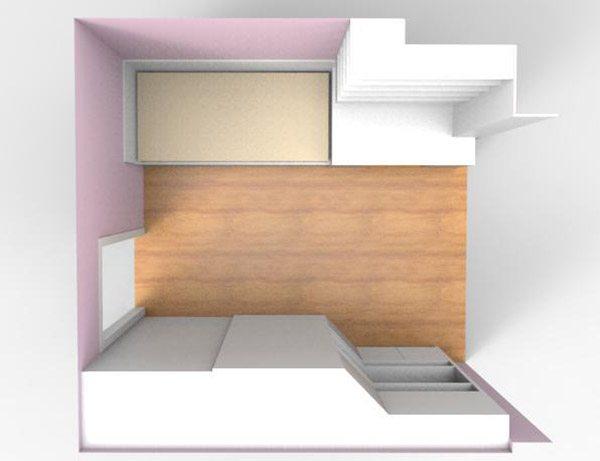 Progetto camera ragazza Milano