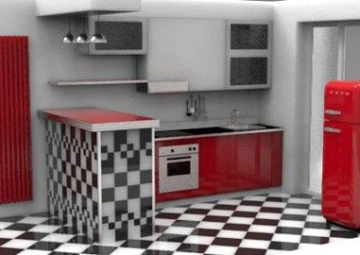 cucina-penisola-rivestita-piastrelle