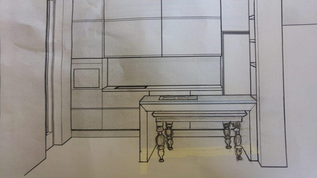Cucina non sò dove mettere il tavolo
