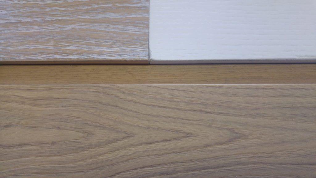 Costruire un armadio in legno spazzolato in falegnameria a opera