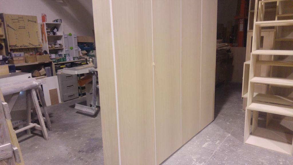 Armadio profondo 80 cm per una nicchia - creocasa cucine, mobili ...