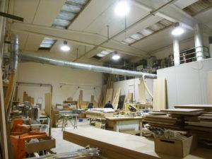 Montaggio mobili realizzato da falegnami