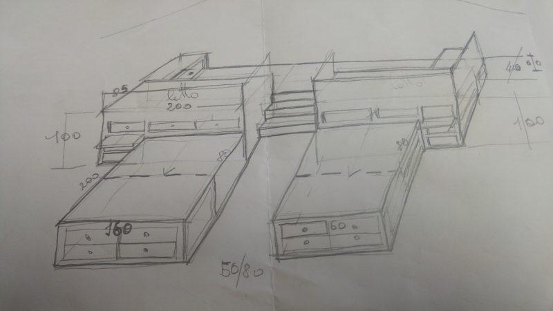 Quattro letti in mansarda per arredare