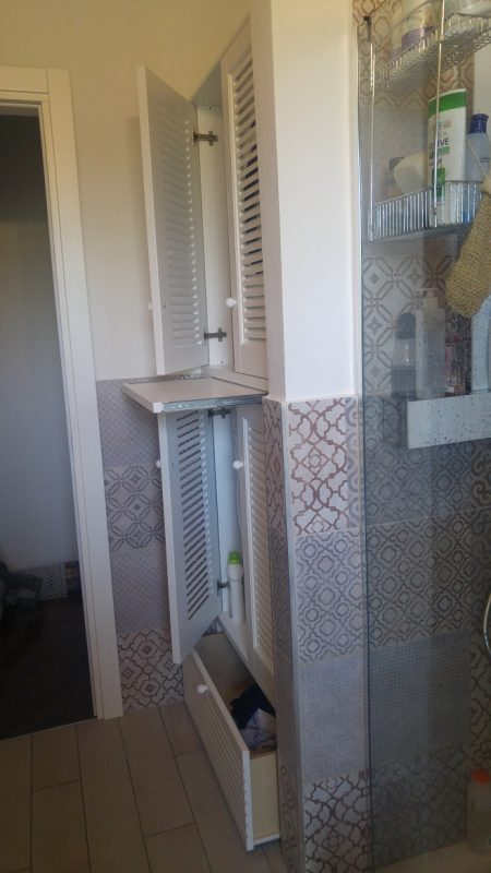 colonna mobile lavatrice asciugatrice a Rozzano